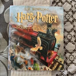 Harry Potter and the Sorcerers Stone hardback book